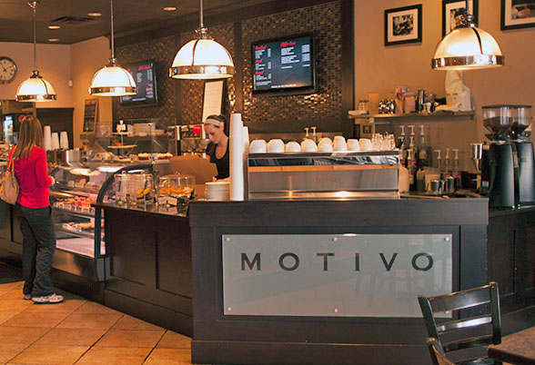 Interior photo of Caffe Motivo